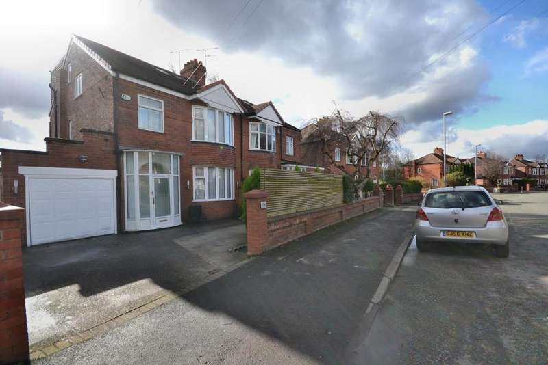 4 Bedrooms Semi Detached House for sale in Fog Lane, Didsbury