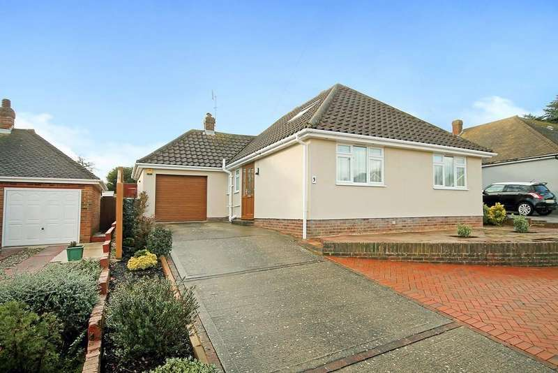 3 Bedrooms Detached Bungalow for sale in Cheviot Close, Worthing BN13 2LL