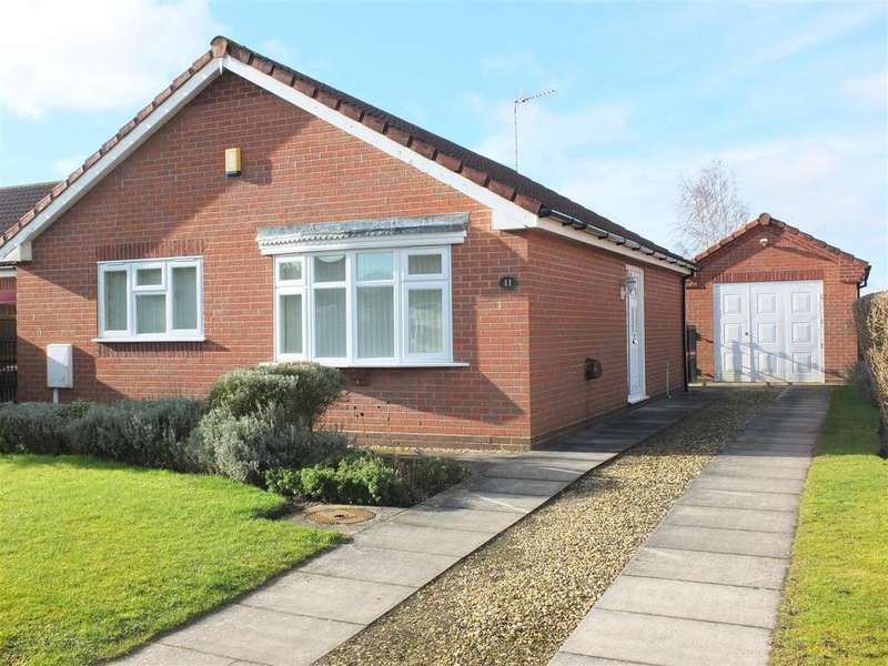 2 Bedrooms Detached Bungalow for sale in The Sidings, Long Sutton