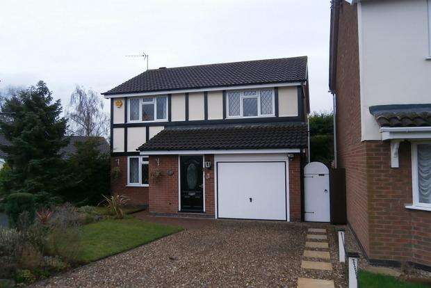 4 Bedrooms Detached House for sale in Wooldale Close, Anstey, Leicester, LE7