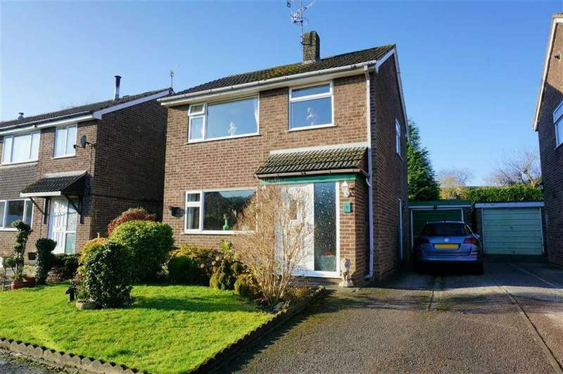 3 Bedrooms Detached House for sale in Short Close, Holymoorside, Chesterfield, S42