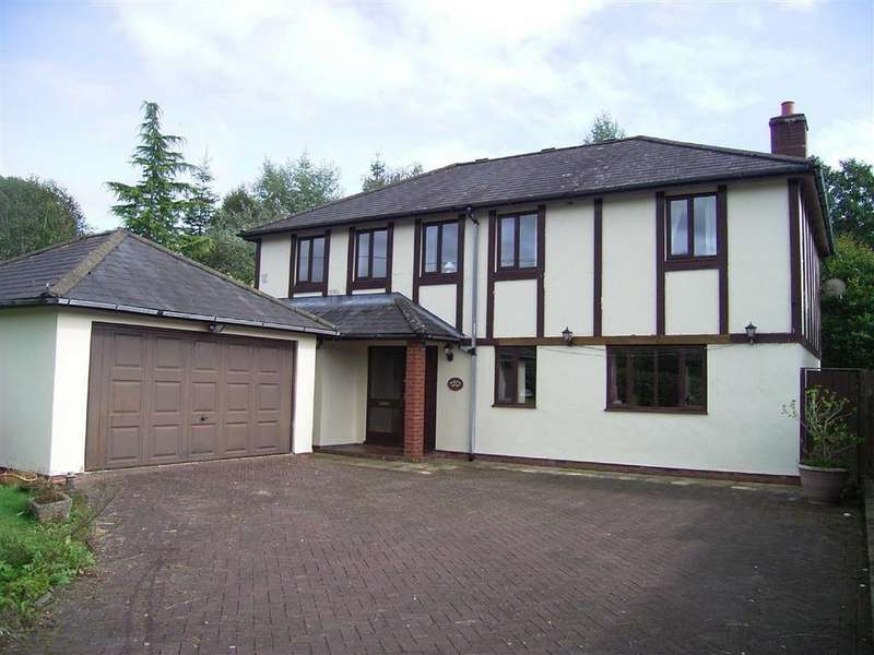 4 Bedrooms Detached House for sale in Erw Felin, Upper Bridge Street, Llanfyllin, Powys, SY22