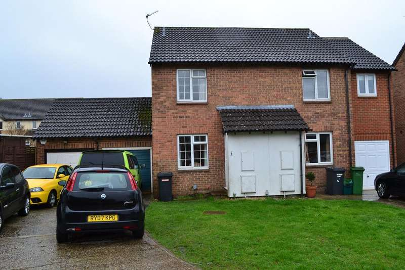 2 Bedrooms Semi Detached House for sale in Lennox Close, Calcot, Reading RG31