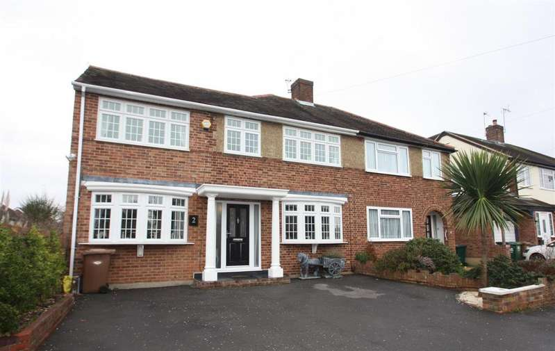 4 Bedrooms Semi Detached House for sale in Gilmore Crescent, Ashford