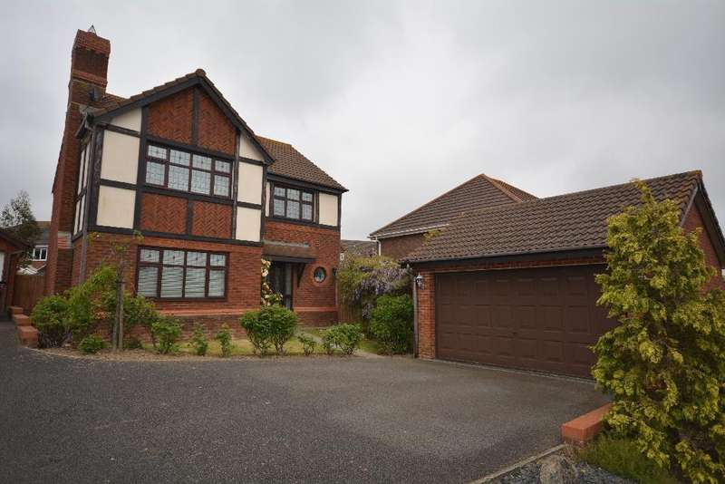 4 Bedrooms Detached House for sale in Tillingham Way Stone Cross, Pevensey