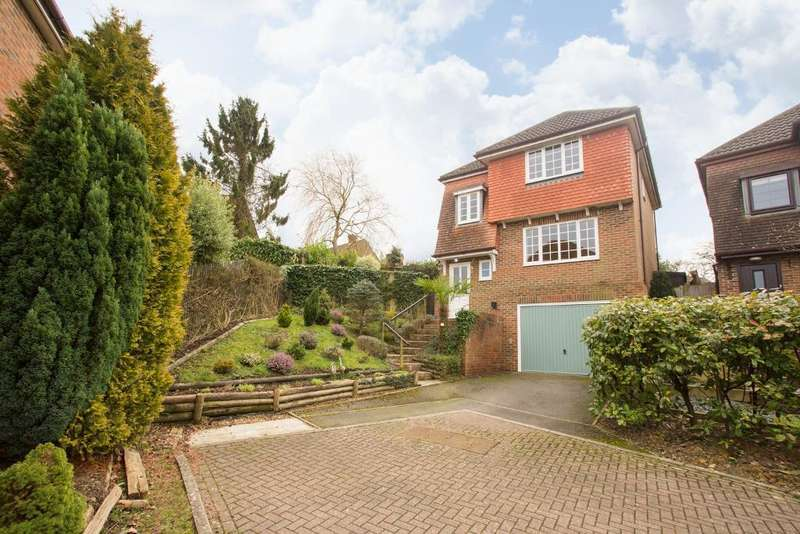 3 Bedrooms Detached House for sale in Meadow Rise, Horam, East Sussex, TN21 0LZ