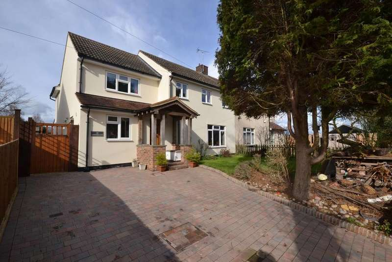 4 Bedrooms Semi Detached House for sale in Lawford Lane, Writtle, Chelmsford, Essex, CM1