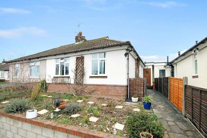 2 Bedrooms Semi Detached Bungalow for sale in Buci Crescent, Shoreham-by-Sea, BN43 6LB