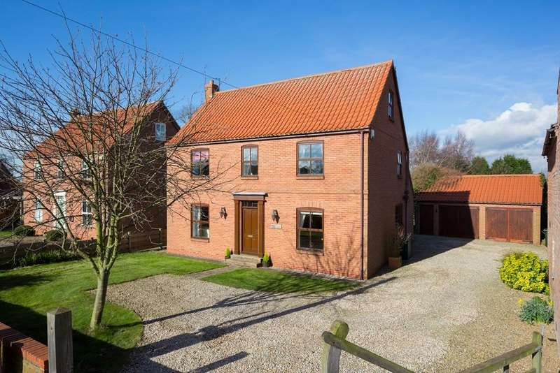 5 Bedrooms Detached House for sale in Main Street, Kelfield, York, YO19