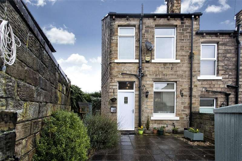 3 Bedrooms End Of Terrace House for sale in Hopton Lane, Mirfield, West Yorkshire, WF14