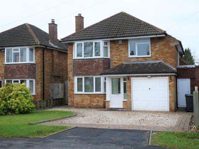 3 Bedrooms Detached House for sale in Ashfurlong Crescent,Sutton Coldfield,West Midlands