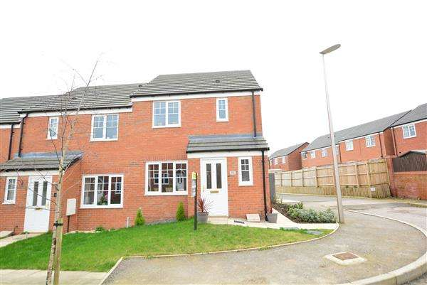 3 Bedrooms End Of Terrace House for sale in Brimstone Road, Winsford