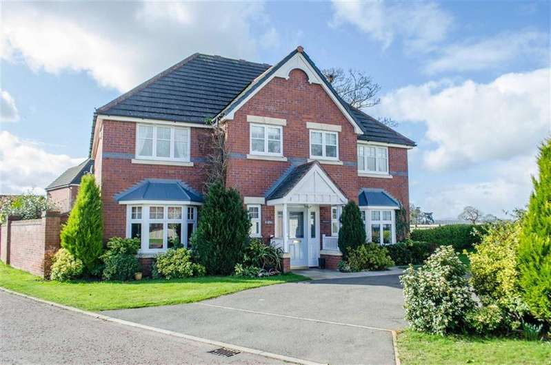 5 Bedrooms Detached House for sale in Beech Hollows, Rossett, Wrexham, Rossett