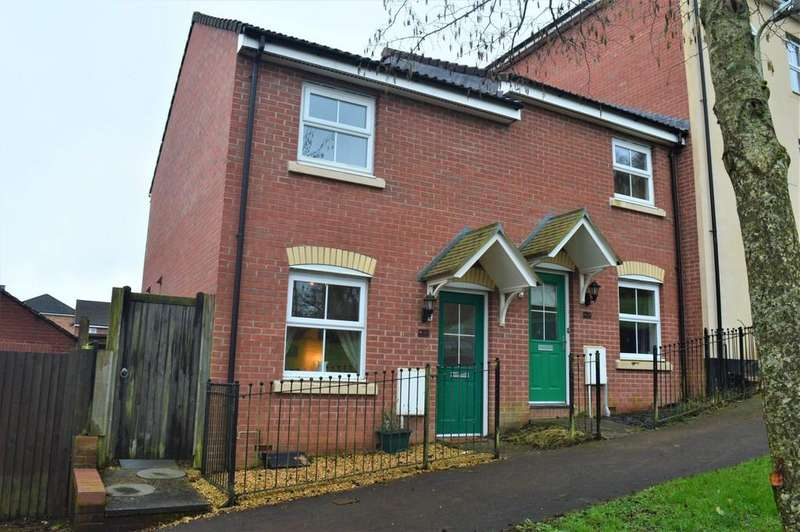 2 Bedrooms Semi Detached House for sale in Buzzard Way, Cwm Calon