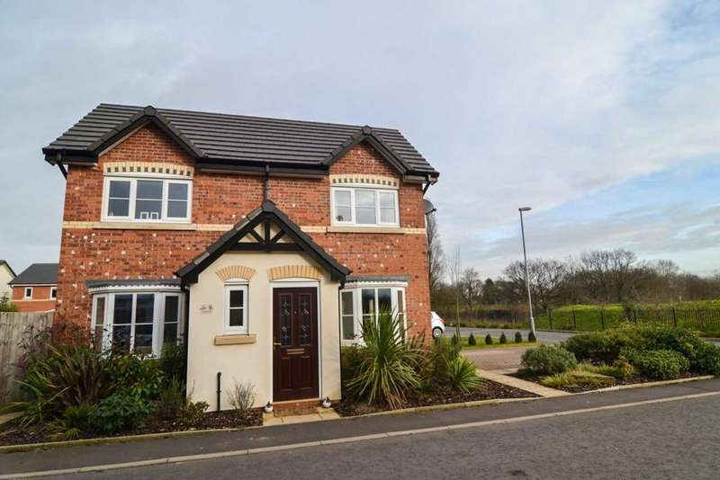3 Bedrooms Detached House for sale in Etherley Drive, Newton Le Willows
