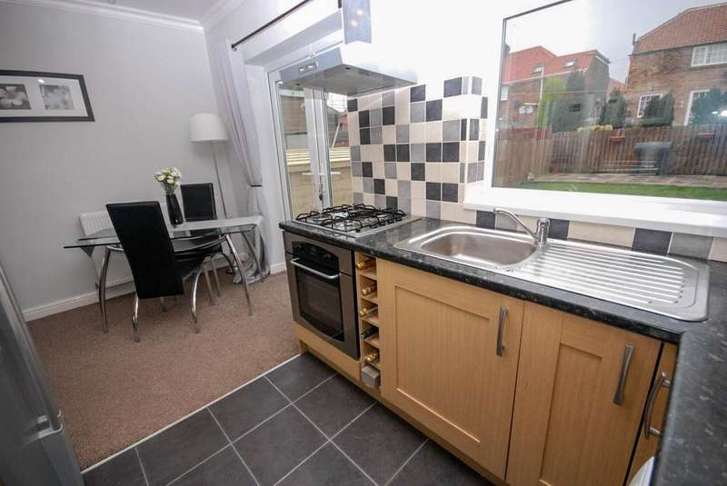 2 Bedrooms Semi Detached House for sale in Meldon Gardens, Lobley Hill