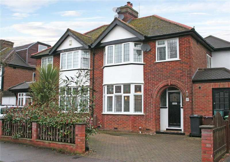 4 Bedrooms Semi Detached House for sale in Elm Drive, St. Albans, Hertfordshire