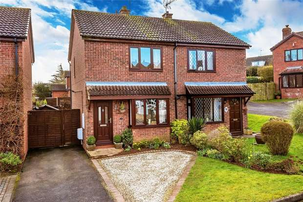 2 Bedrooms Semi Detached House for sale in 2 Seabright Way, Alveley, BRIDGNORTH, Shropshire