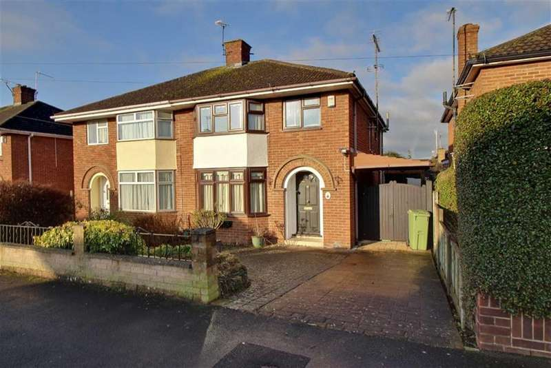 3 Bedrooms Semi Detached House for sale in Oxford Way, Cheltenham, Gloucestershire