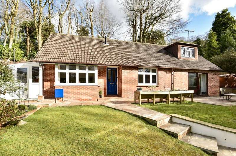 4 Bedrooms Detached Bungalow for sale in Marley Lane, Haslemere, GU27