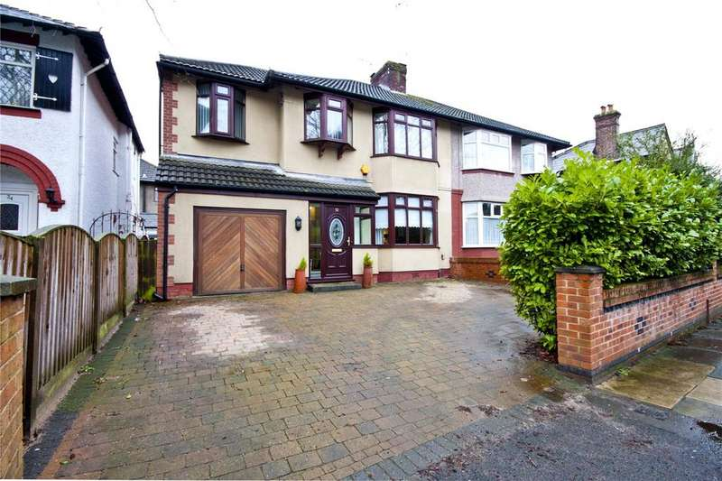 4 Bedrooms Semi Detached House for sale in Halewood Road, Liverpool, Merseyside, L25