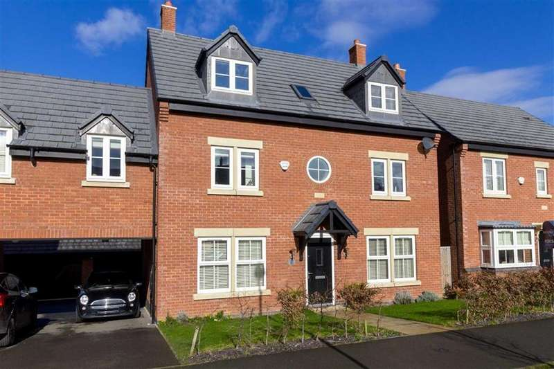 5 Bedrooms Detached House for sale in Saxon Drive, Rothley, LE7