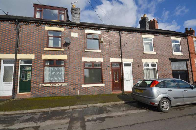 2 Bedrooms Terraced House for sale in Leycett Road, Scot Hay