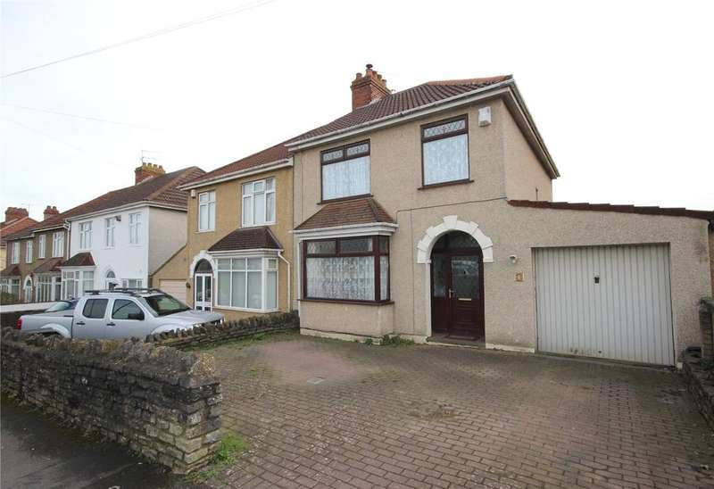 3 Bedrooms Semi Detached House for sale in Conygre Road, Filton, Bristol, BS34