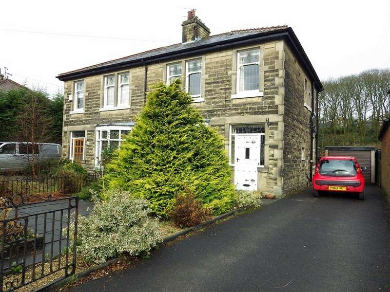 3 Bedrooms Semi Detached House for sale in Bacup Road, Rawtenstall, Rossendale, Lancashire, BB4