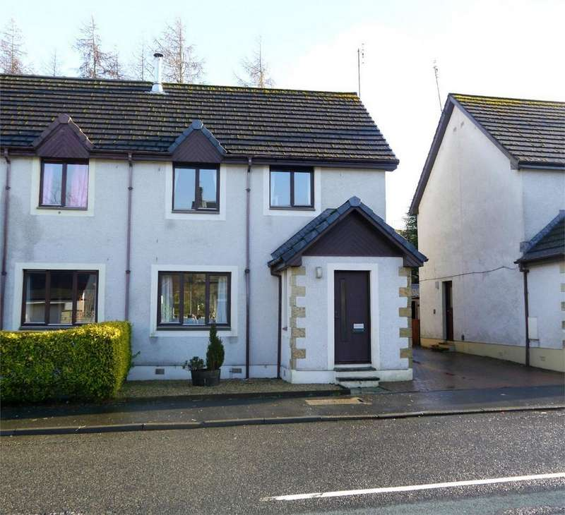 3 Bedrooms Semi Detached House for sale in The Pines, Main Street, Glenfarg, Perth