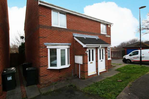 2 Bedrooms Semi Detached House for sale in Bishops Close, Wallsend, Tyne And Wear, NE28 7BU