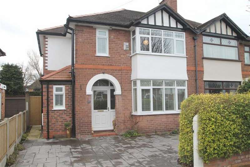 3 Bedrooms Semi Detached House for sale in Greenbank Road, Hoole