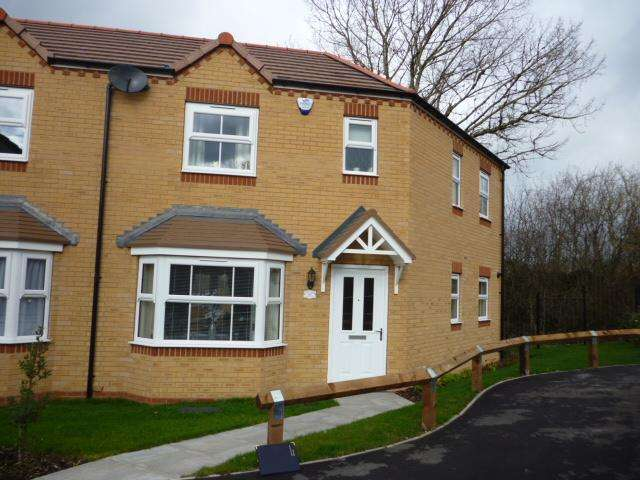 3 Bedrooms Semi Detached House for sale in WHITWORTH CLOSE, OFF BRYTHILL DRIVE, OFF BRETTELL LANE, BRIERLEY HILL DY5