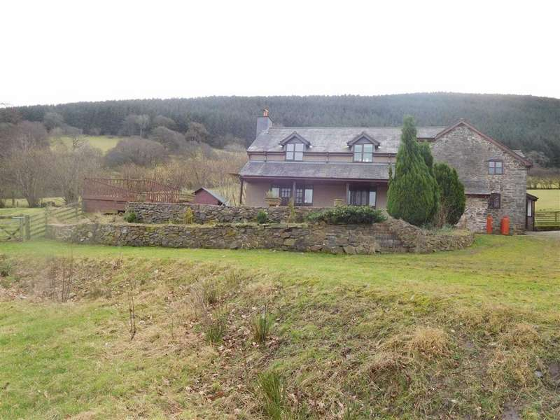 4 Bedrooms Detached House for sale in Ffordd Goed, Penybontfawr, Oswestry