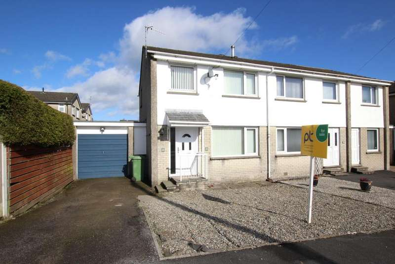 3 Bedrooms Semi Detached House for sale in 27 Scafell Drive, Kendal
