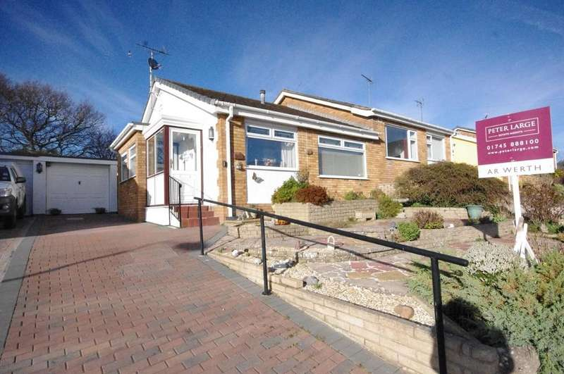 2 Bedrooms Semi Detached Bungalow for sale in St. Chads Way, Prestatyn