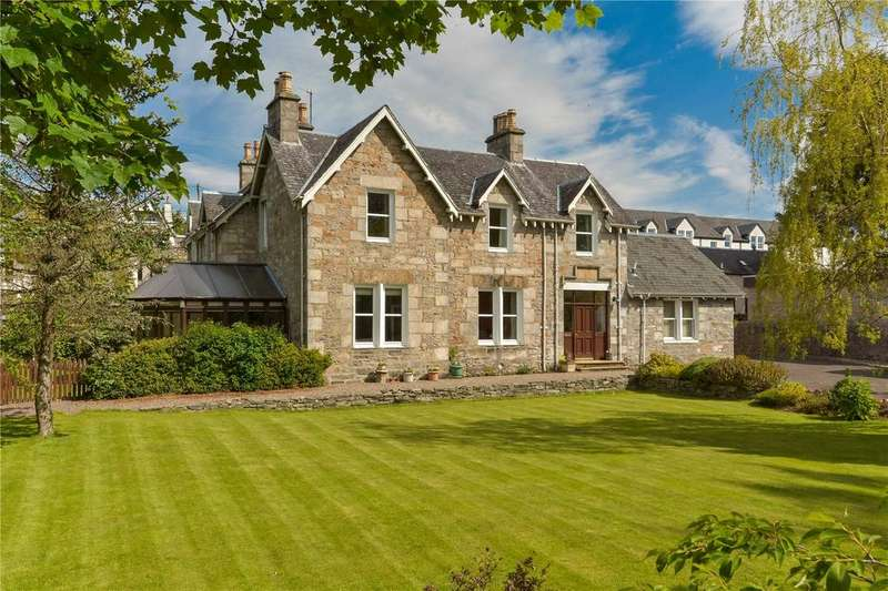 6 Bedrooms Detached House for sale in Croft-Na-Coille, 25 Toberargan Road, Pitlochry, Perthshire, PH16