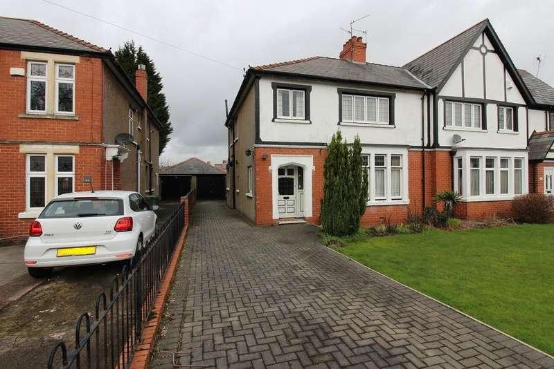 3 Bedrooms Semi Detached House for sale in Heathwood Road, Heath