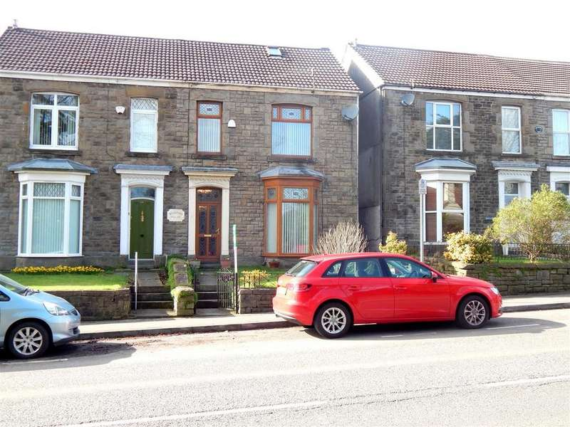 5 Bedrooms Semi Detached House for sale in Pentrepoeth Road, Morriston, Swansea