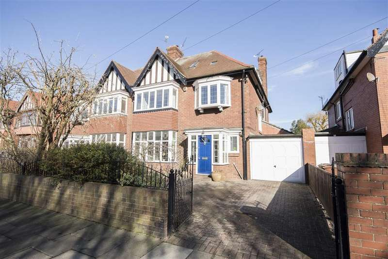 6 Bedrooms Semi Detached House for sale in 28 Montagu Avenue, Gosforth, Newcastle upon Tyne NE3