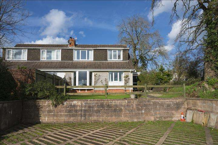 4 Bedrooms Semi Detached House for sale in Blackwater Road, Culmstock, Cullompton EX15