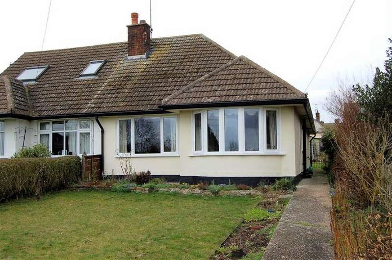 2 Bedrooms Semi Detached Bungalow for sale in Station Road, Lower Stondon, Bedfordshire