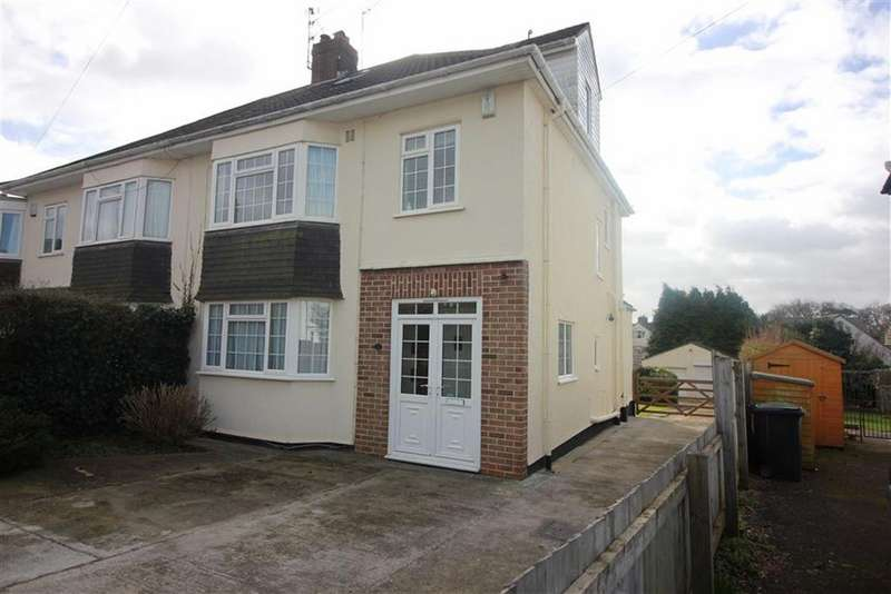 4 Bedrooms Semi Detached House for sale in Haytor Park, Stoke Bishop, Bristol