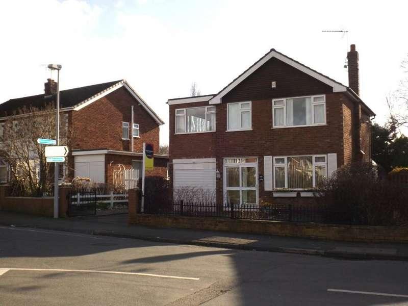 4 Bedrooms Detached House for sale in Manor Way, Crewe