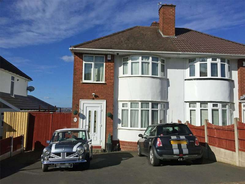 3 Bedrooms Semi Detached House for sale in Windsor Road, HALESOWEN, West Midlands