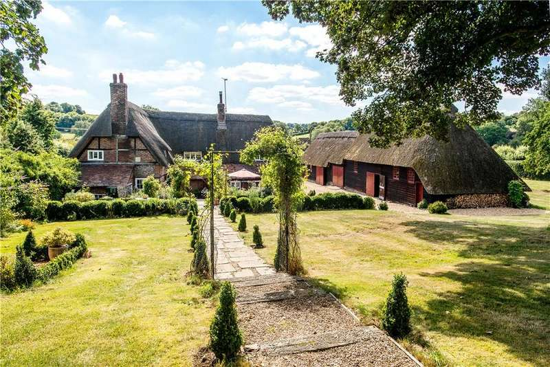 4 Bedrooms Detached House for sale in Gangbridge Lane, St. Mary Bourne, Andover, Hampshire, SP11