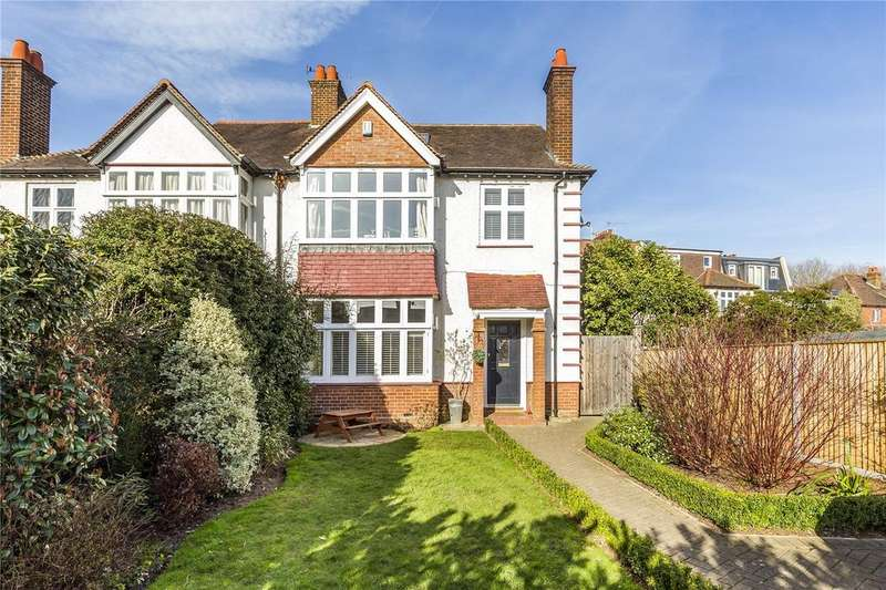 4 Bedrooms Semi Detached House for sale in Richmond Road, London, SW20