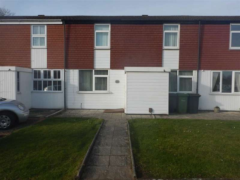 2 Bedrooms Terraced House for sale in Faultlands Close, Nuneaton, Warwickshire, CV11