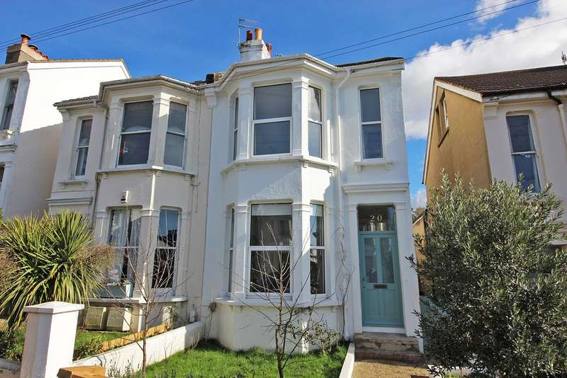 4 Bedrooms Semi Detached House for sale in Havelock Road, Brighton BN1