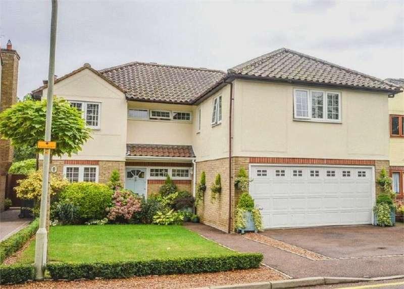 5 Bedrooms Detached House for sale in Shortcroft, BISHOP'S STORTFORD, Hertfordshire